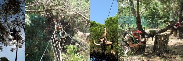 Algarve adventure parks