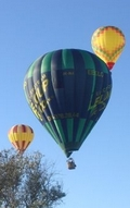 hot air balloon gathering