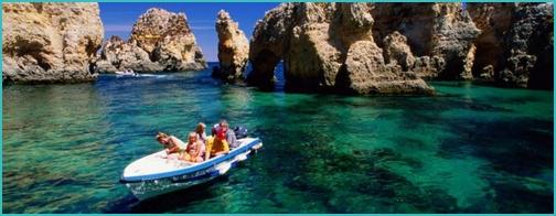 Algarve boat trip