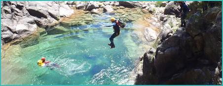 Canyoning in Peneda Geres