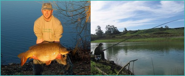 carp fishing in Portugal