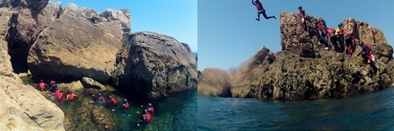 coasteering in Portugal