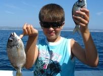 Fishing in Ria Formosa