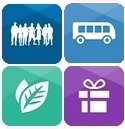 suitable for groups, eco friendly, transfers and gift vouchers are available!