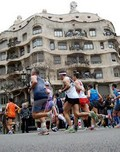 jogging in Lisbon