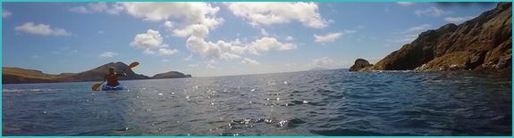 kayaking in Madeira
