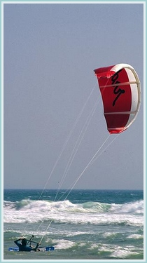 Kite surfing in Portugal