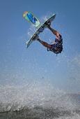 kitesurfing in Lisbon