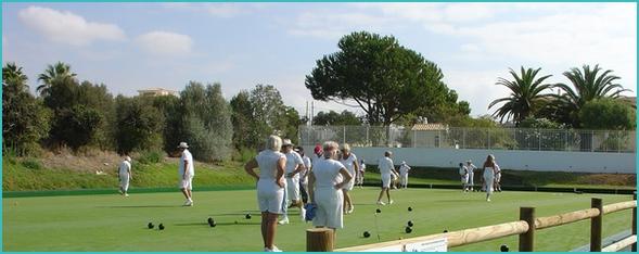 bowling in Portugal- Balaia bowls club