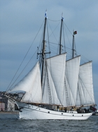 sailing in Lisbon