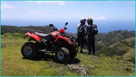 Madeira quad bikes