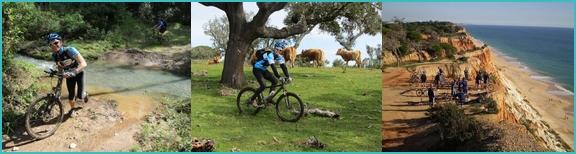Algarve mountain biking