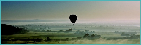 Hot air balloon flight in Portugal
