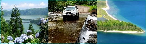 jeep tours, Azores