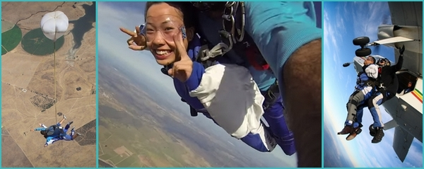 skydiving in Lisbon