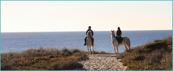 riding holiday in Portugal