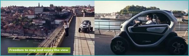 Porto twizy tour