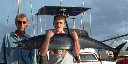 wahoo caught in Madeira
