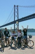 bike tour in Lisbon