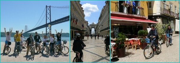 cycle tours of Lisbon