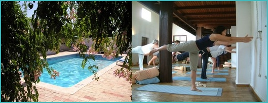 yoga holidays in the Algarve