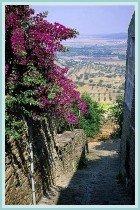 Walking in Monsaraz, Southern Portugal