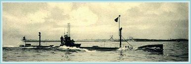 Contemporary photo of a German U boat